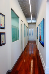 Dentist-Perth-Hallway